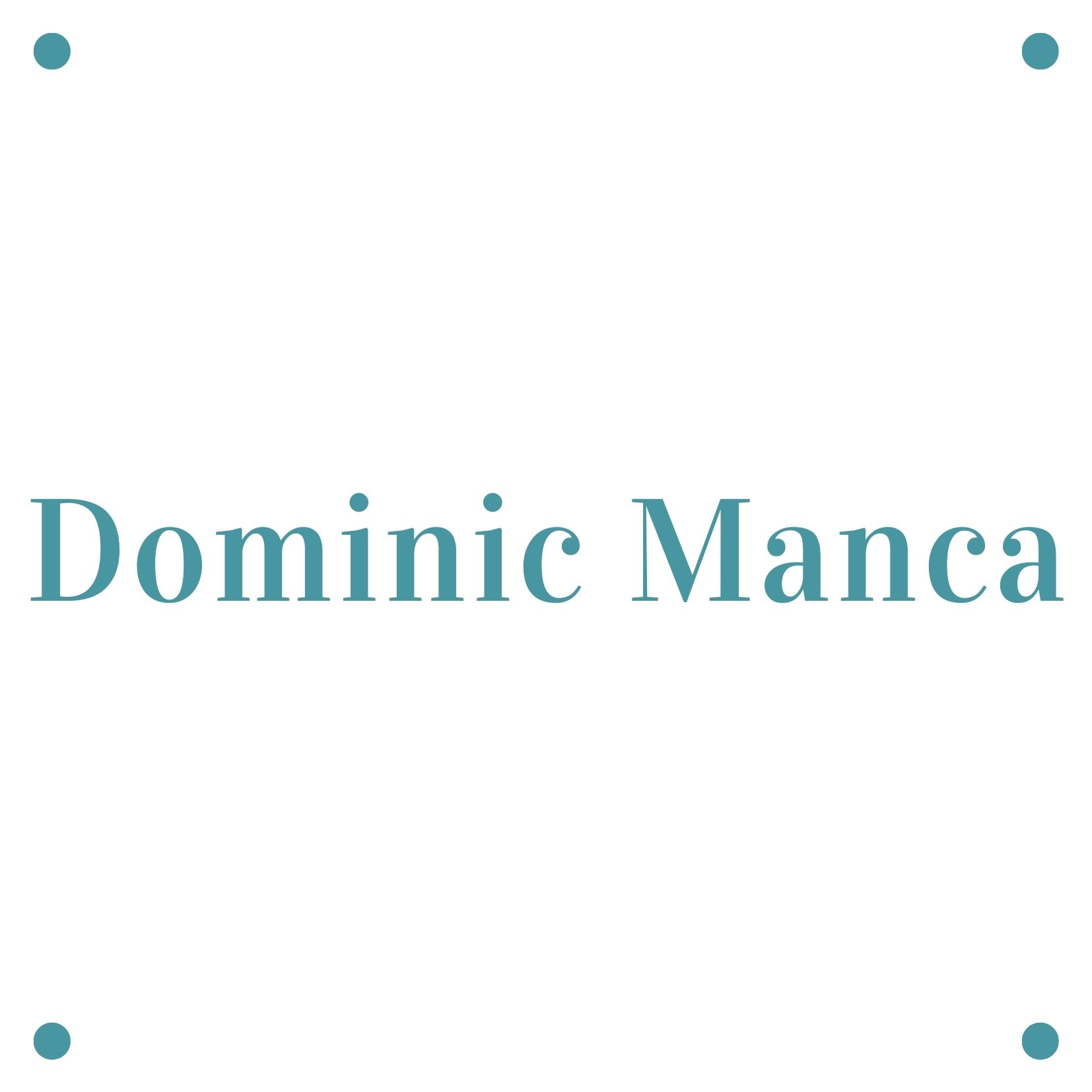"""Dominic Manca<br><span style=""""color: #0aadeb;"""">Operations Manager </span>"""