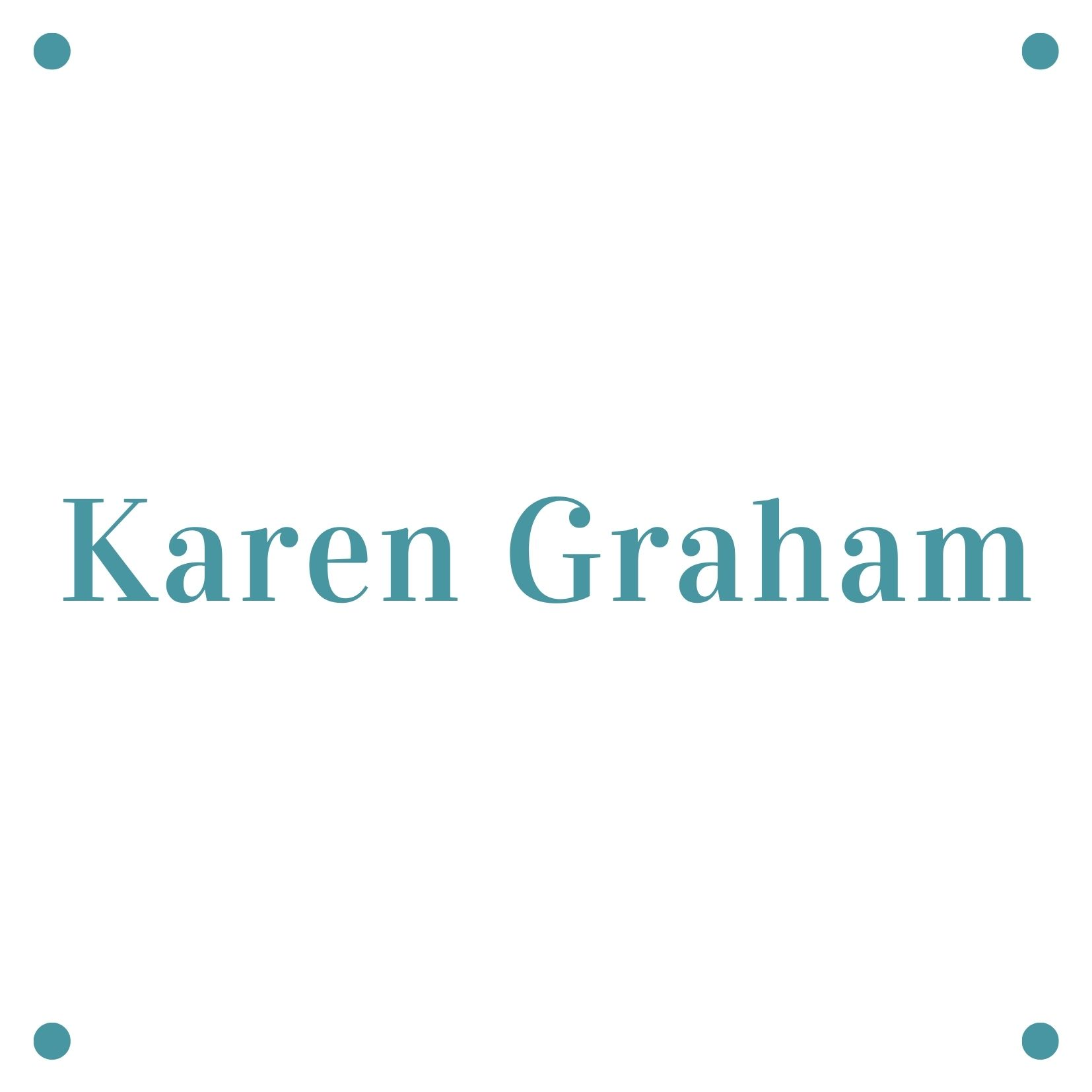 """Karen Graham <br><span style=""""color: #0aadeb;"""">Administration Manager</span>"""